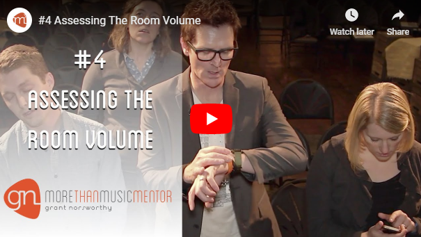 M3 Vlog Assessing Room Volume Grant Norsworthy
