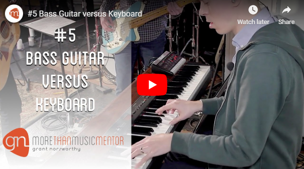 M3 Vlog Bass Guitar Vs Keyboard Grant Norsworthy
