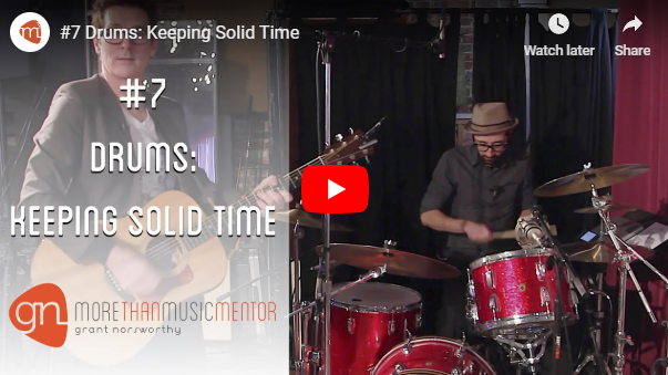M3 Vlog Drums Keeping Solid Time Grant Norsworthy