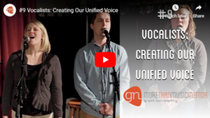 M3 Vlog Creating Unified Voice Grant Norsworthy