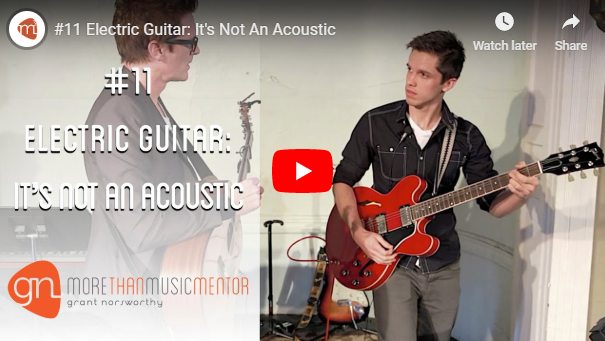 M3 Vlog Acoustic Vs Electric Guitar Grant Norsworthy