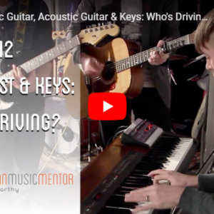 Electric Acoustic Keys Who's Driving?