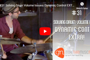 M3 Vlog Drum Volume Dynamic Grant Norsworthy