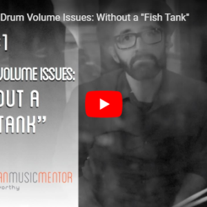 M3 Vlog Drum Volume Issues Grant Norsworthy